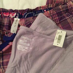 Women's Gap size M pajama set.  NWT